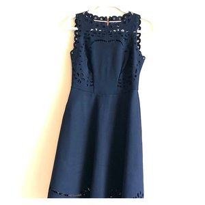 Ted Baker navy blue dress